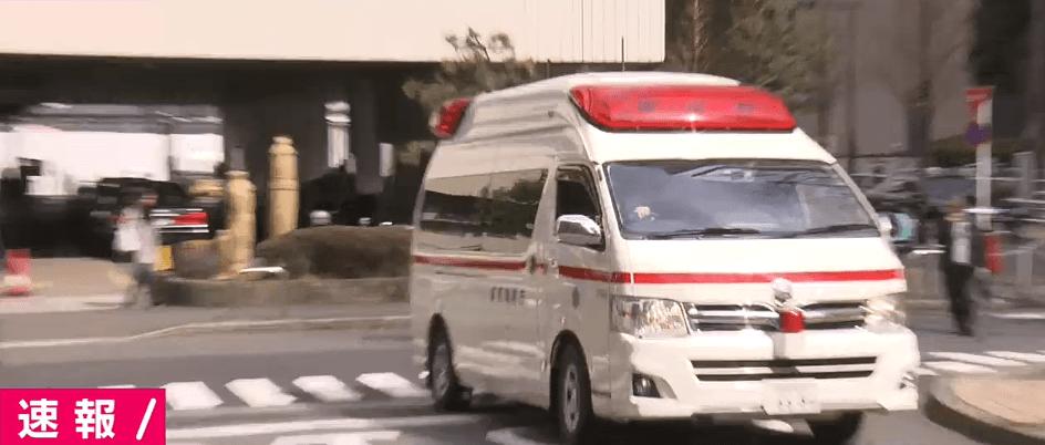 新宿・ヒルトン東京でタクシーにはねられ4人怪我