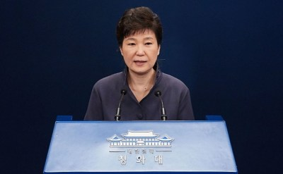 パククネ前大統領、罷免 – Park Geun Hye dismissal to the President