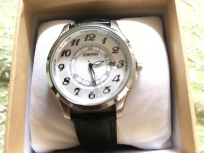 COMTEXのメンズ腕時計「涼しげ!夏腕時計」をAmazonで。