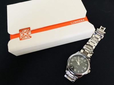 COMTEX スタイリッシュ!メンズ向けメタルバンド腕時計レビュー