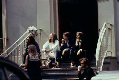 with Linda McCartney