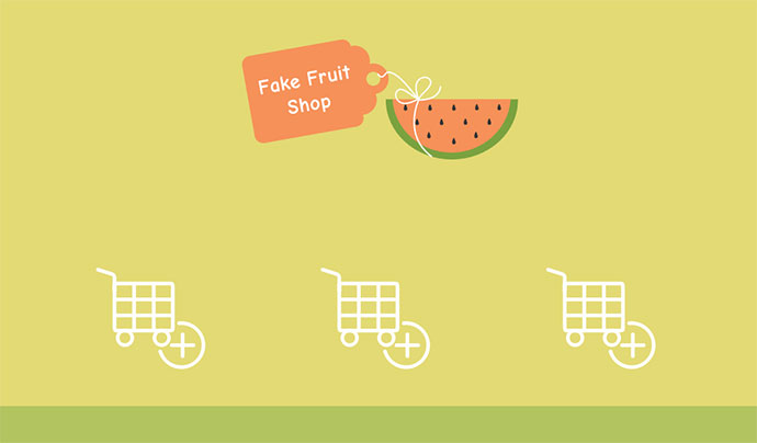 Animated SVG Shopping Cart Icons