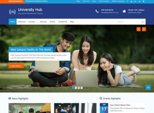 Free Education Wordpress Themes For Schools & Colleges