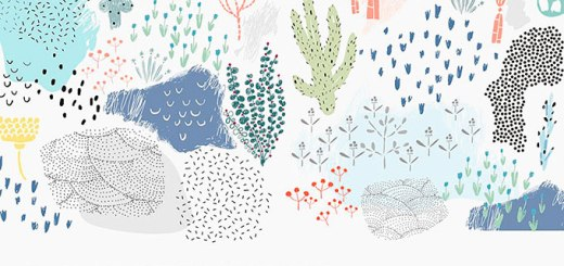 Vector Plants and Textures Free Download