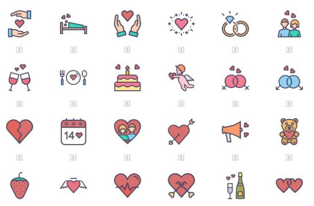 Free Valentines Day Icons