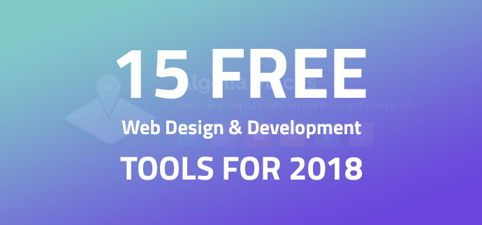 15 Free Web Design & Development Tools In 2018