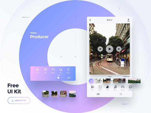 Mobile Video UI Templates