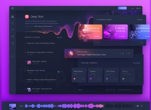 Beautiful Gradient Dashboard UI Designs 2018