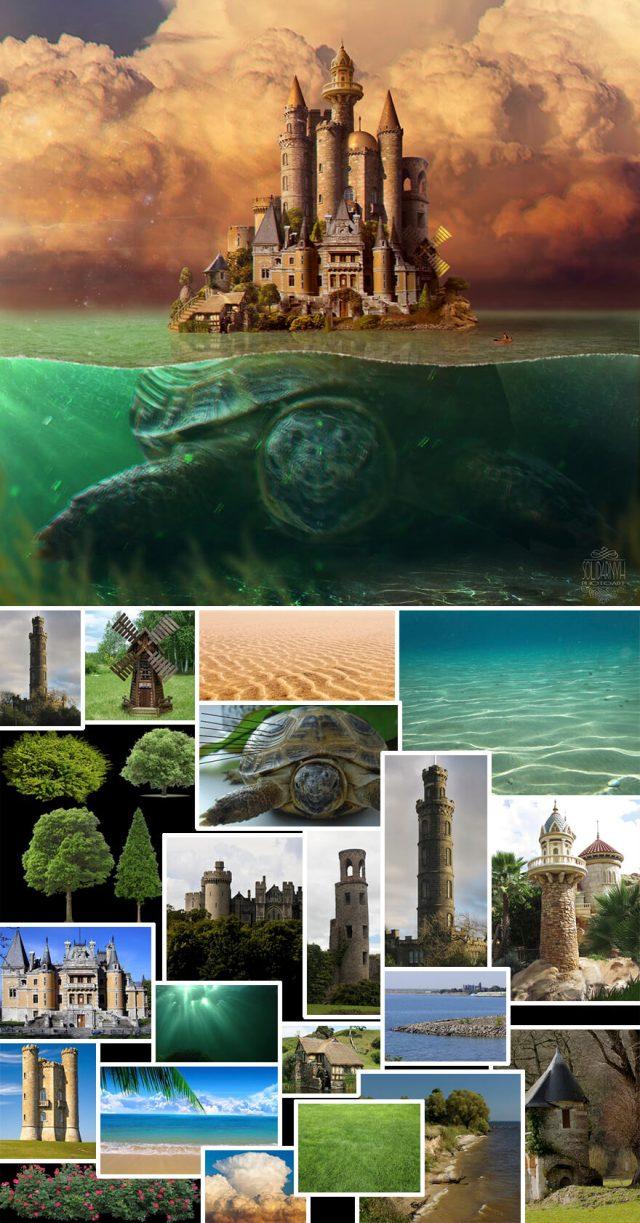 stunning photoshop image manipulation