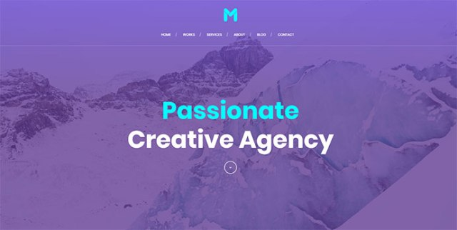 Beautiful Gradient WordPress Themes