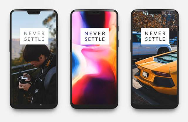 One Plus 6 Mockup psd and sketch