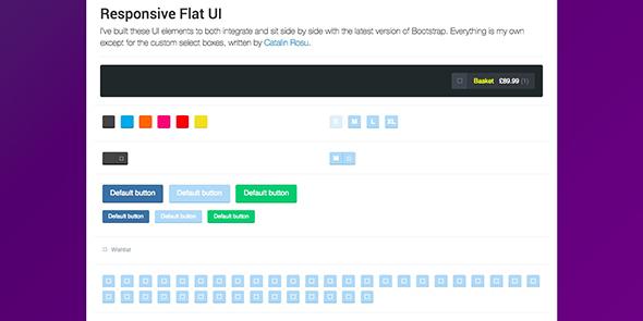 Bootstrap UI kit Download 2018