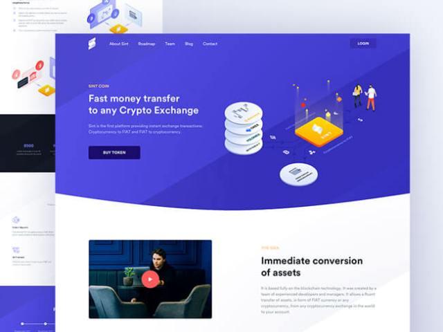 Isometric Illustrations bitcoin