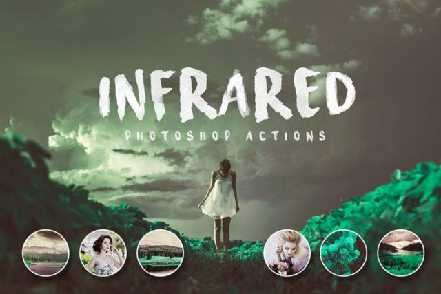 Infrared Best Creative Photoshop Actions