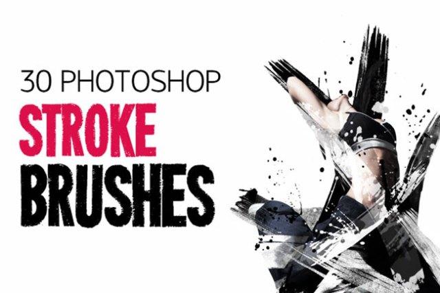 Photoshop Stroke Brushes