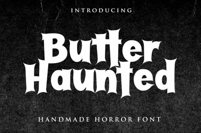 dark Scary Halloween Fonts