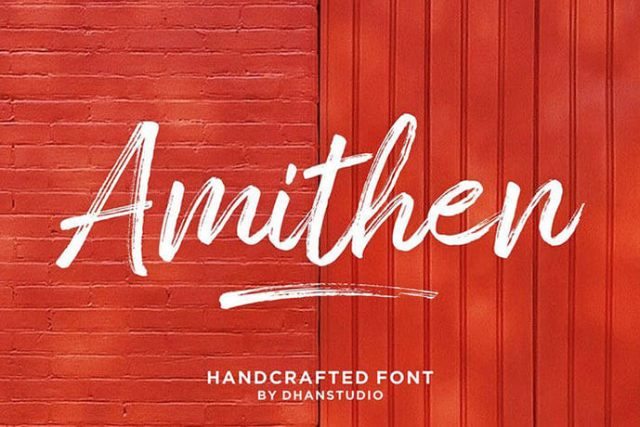 svg handcrafted font