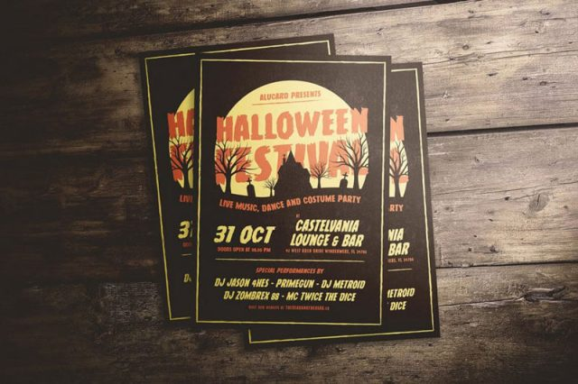 Halloween Dark Flyer Templates