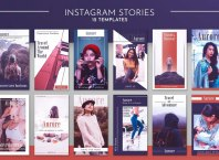 instagram story templates psd