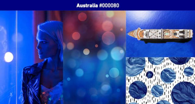 Australia Most popular color in 2019