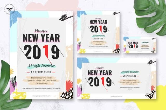 best Happy New Year Flyer Templates