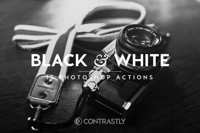 Best Best Black & White Photoshop Actions