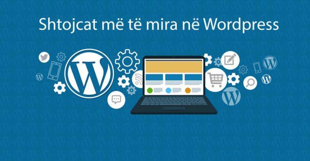 shtojcat me te mira per WordPress