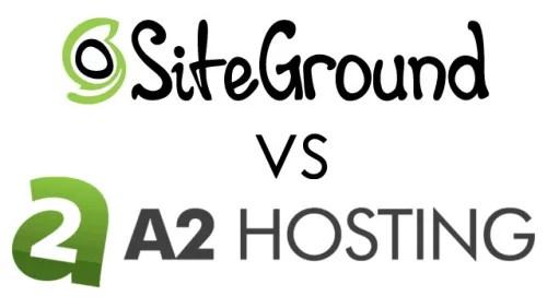 Siteground vs A2 hosting Review