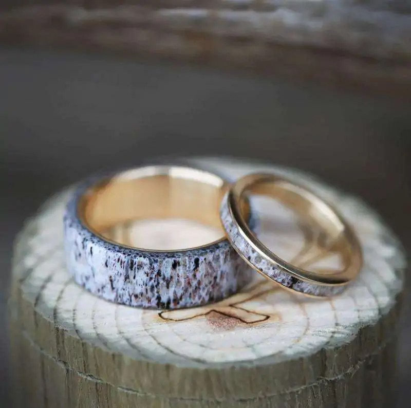 Basic Things You Should Know About Antler Wedding Bands
