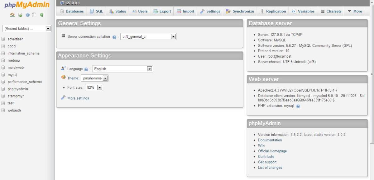 membuat database di xampp, phpmyadmin, xampp