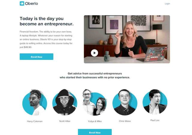 Oberlo Free DropShipping Course