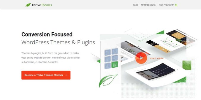 ThriveThemes - Conversion Focused