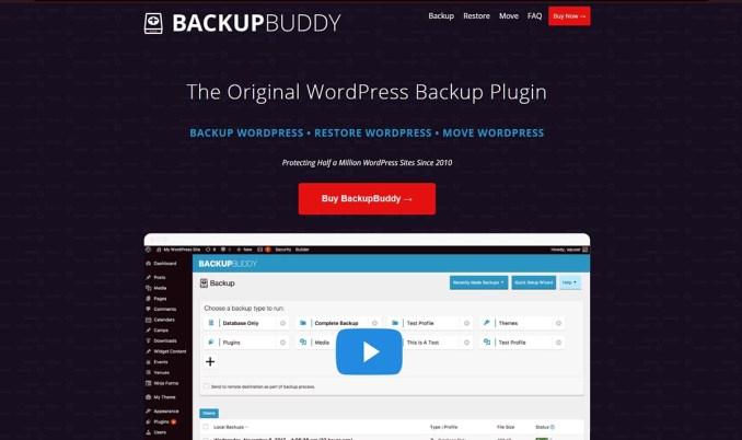 BackupBuddy - Premium WordPress Backup Plugin