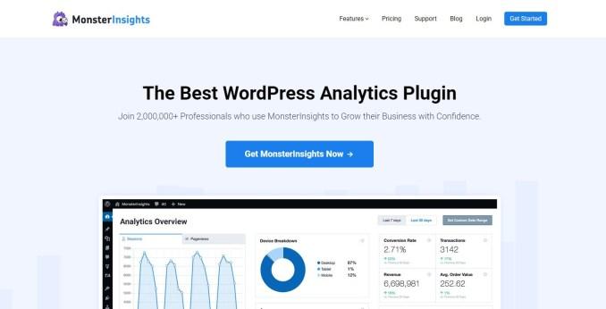 MonsterInsight - Best Analytics Plugin
