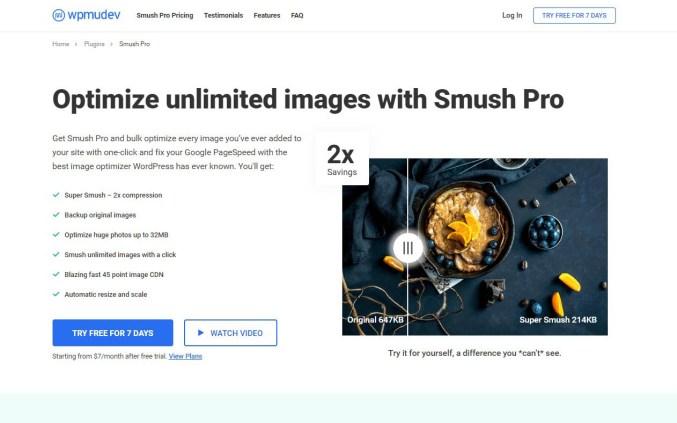 Smush - Image Optimization Plugin