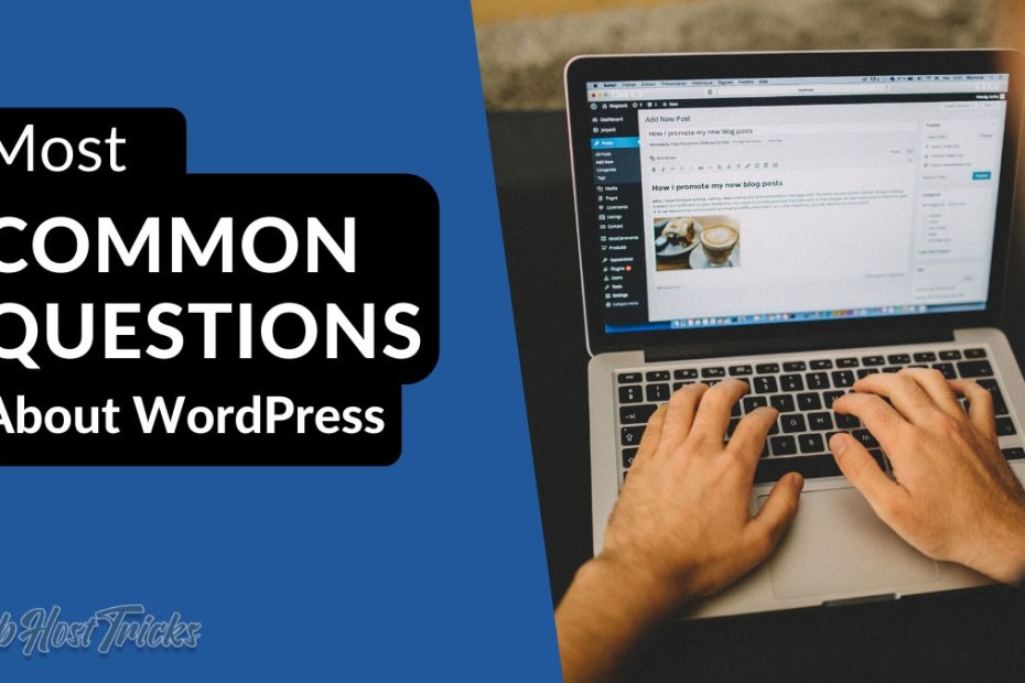 Common Questions About WordPress