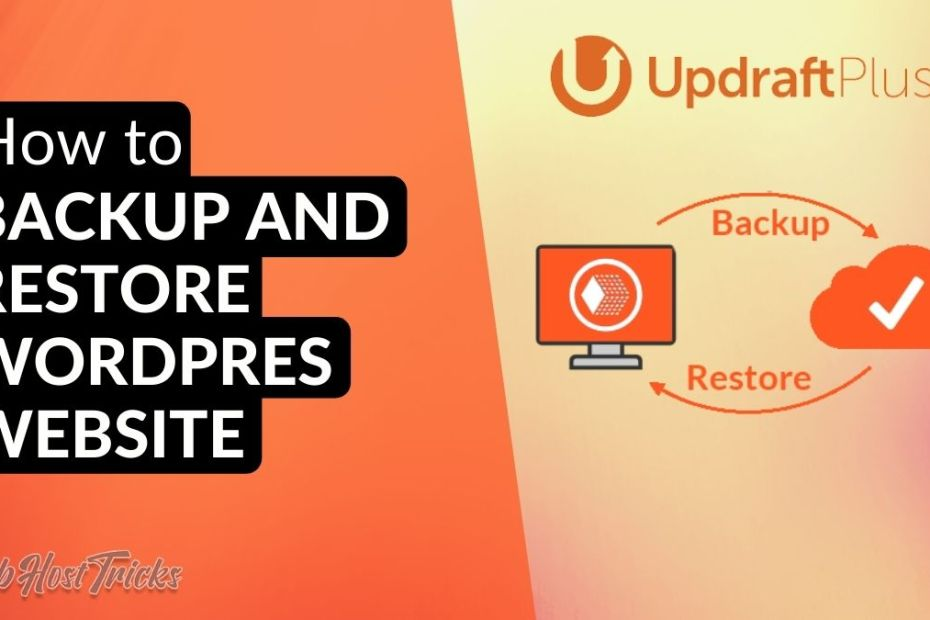 How to backup and restore WordPress