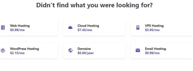 Hostinger Pricing Overview
