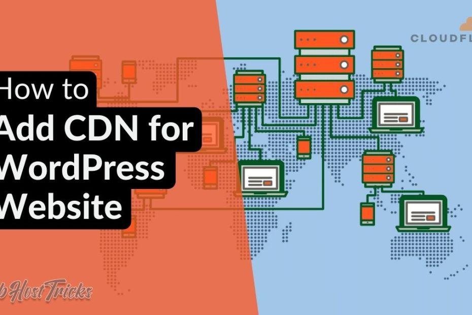 Add CDN for WordPress