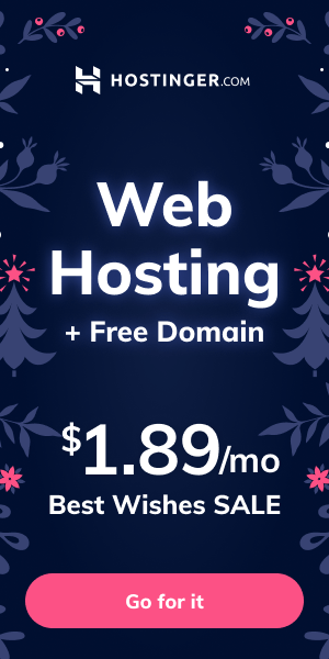 Best Wishes Sale on Hostinger