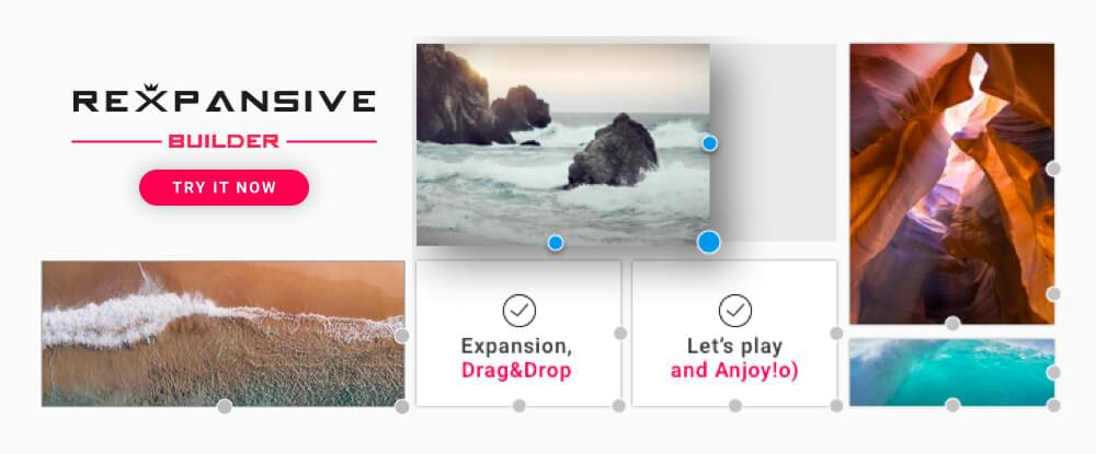 REXPANSIVE Page Builder for WordPress