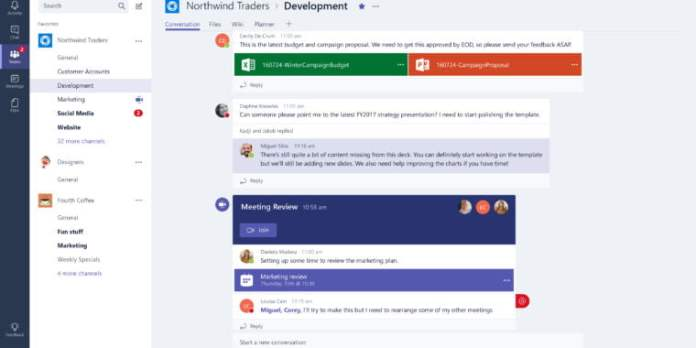 Teams, Microsoft's Slack competitor, is about to become a whole lot more competitive
