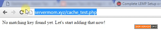 test cache memcached