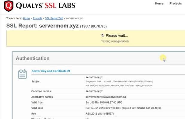 Let us Encrypt SSL On Vestacp: easiest method | Webilicious