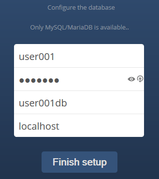 config-owncloud-database