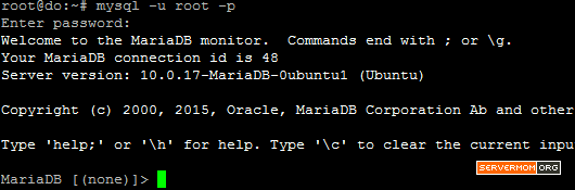 login-mariadb-ubuntu-1504