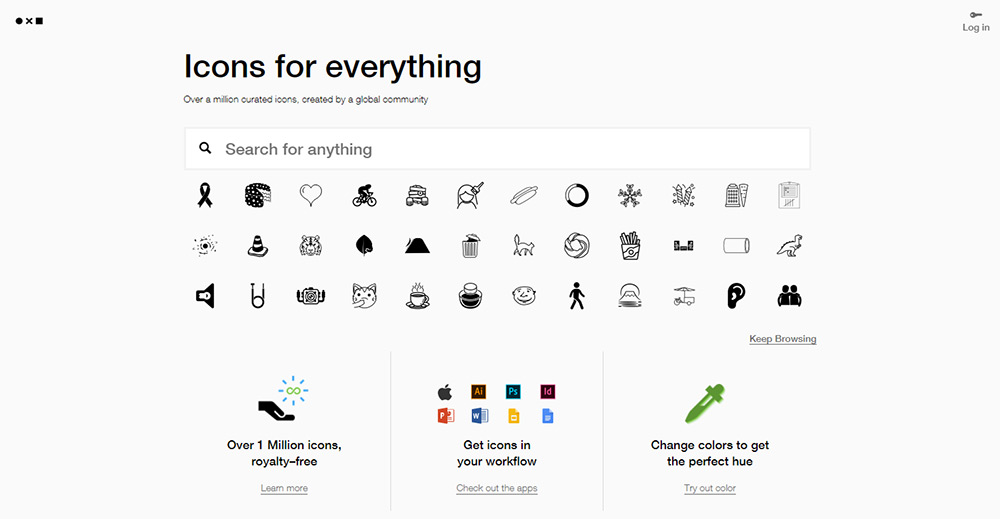 Noun Project Icons