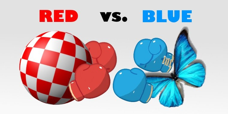 A history of the Amiga, part 12: Red vs. Blue