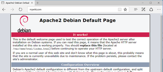 Just how to Install DokuWiki with Apache on Debian 9 13