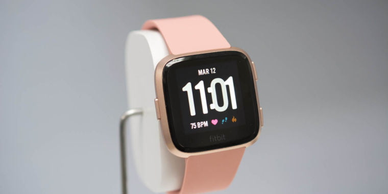 """The $199 Fitbit Versa is the company's new """"mass-appeal"""" smartwatch"""